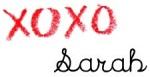 XOXO, Sarah